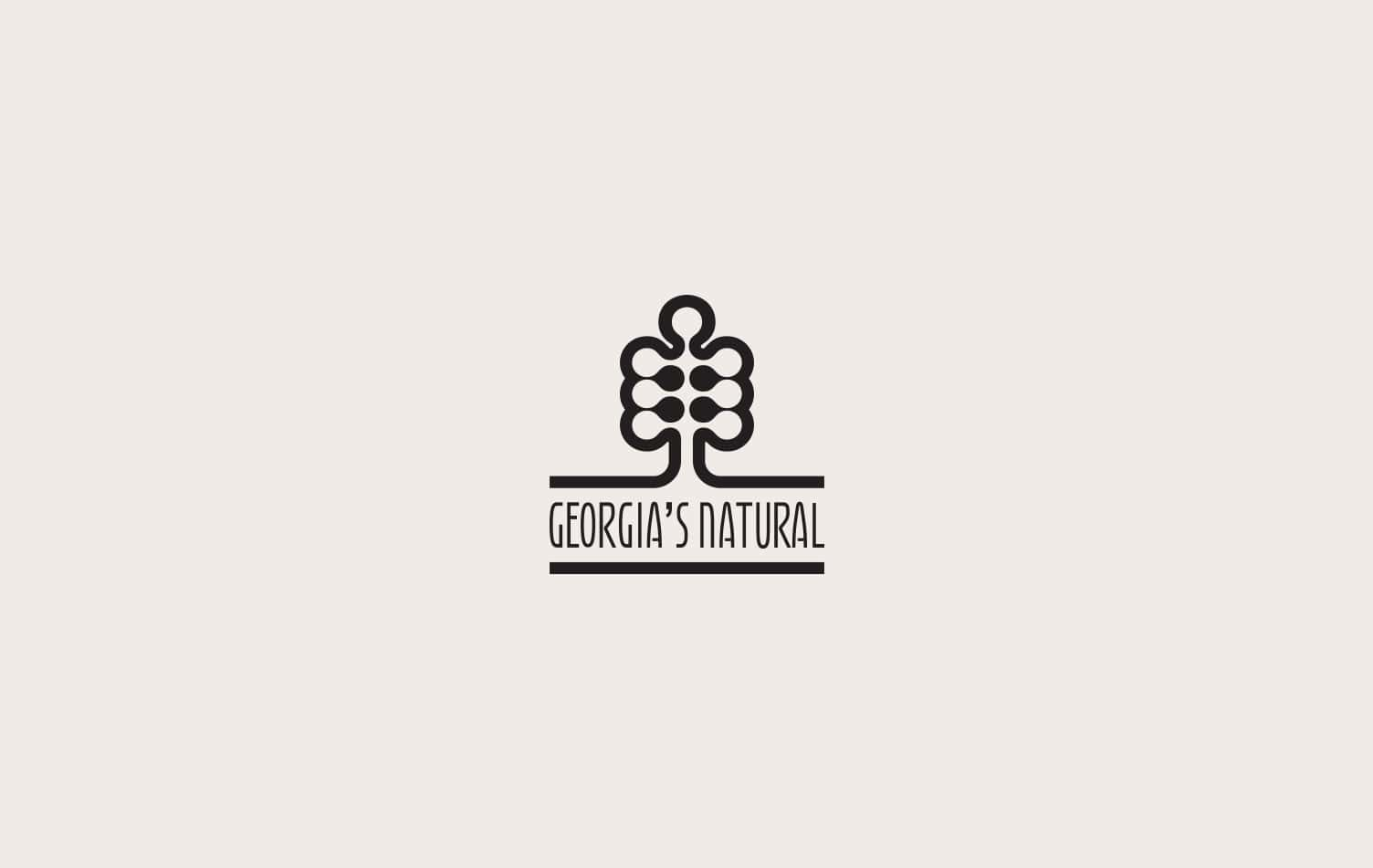 Georgia's Natural Logo Design